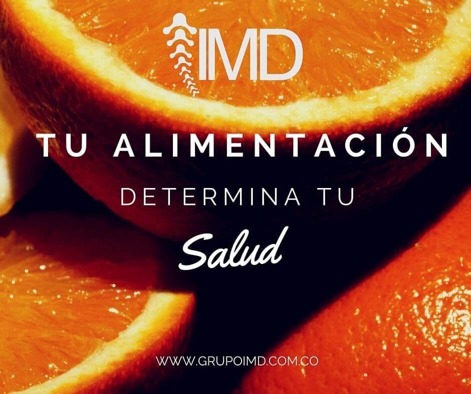 Tu alimentacion determina tu salud