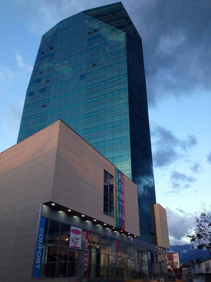 Edificio Parque Médico Preparativos