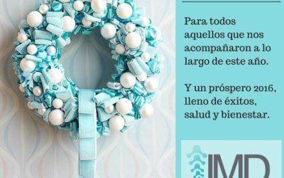 IMD les desea una Feliz Navidad y Próspero 2016