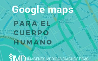 Google maps para el cuerpo humano