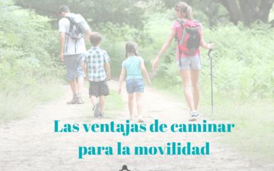 Las ventajas de caminar para la movilidad