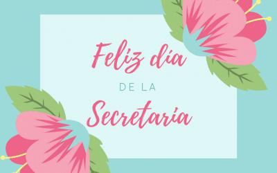 Día de la secretaria: Agradecimiento a nuestras secretarias