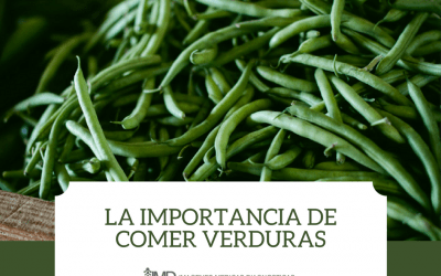 la importancia de comer verduras