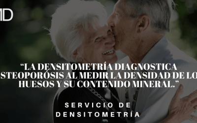 Servicio de Densitometría
